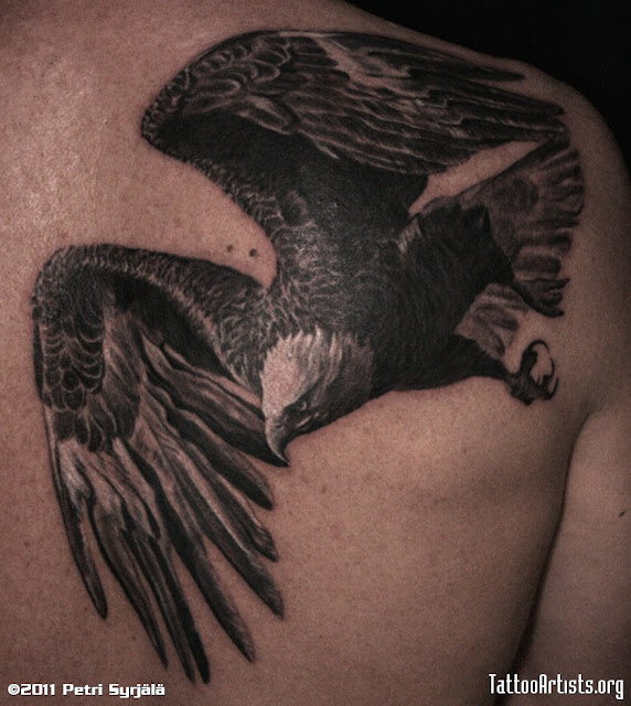 ideas for tattoos: favorite eagle tattoos best quality