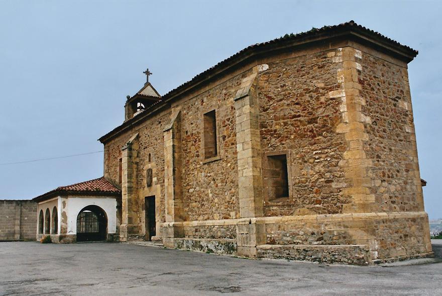 Santuario de la Virgen de la Luz en Avilés