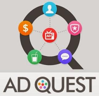 Aplikasi AdQuest Penghasil Uang di Android