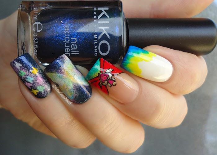abbastanza Silvia Lace Nails: Super Sailor Moon nail art TI99