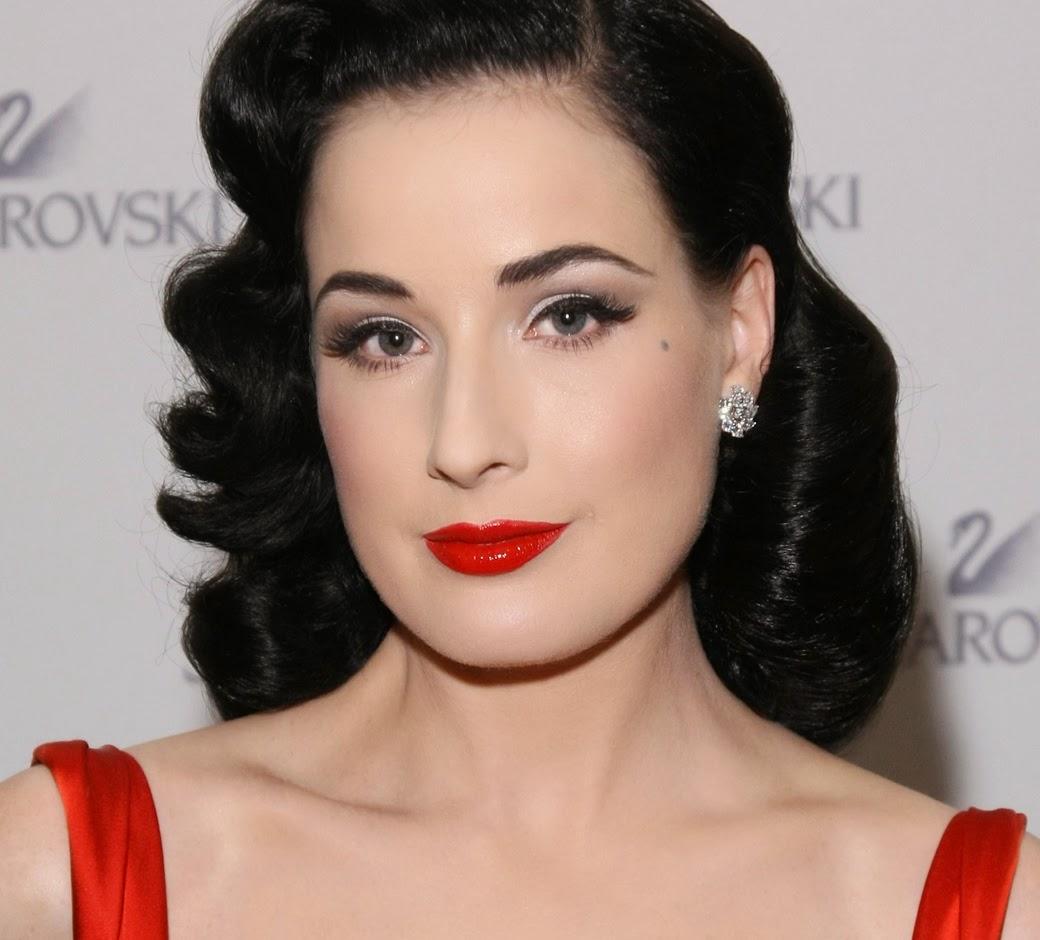 Jasmine willis fmp reflective journal dita von teese makeup tutorial - Maquillage pin up ...