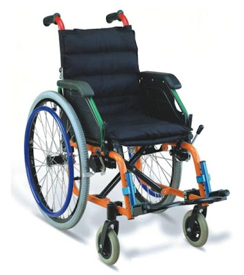 Kerusi roda kanak-kanak 兒童轮椅 Child wheelchair