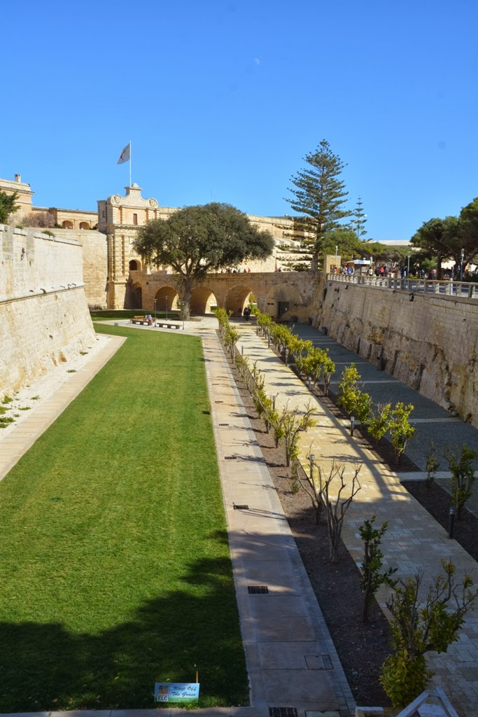 General Impressions Rabat Malta defense wall