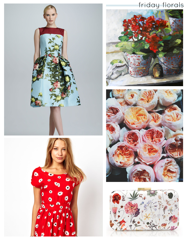 friday florals collage