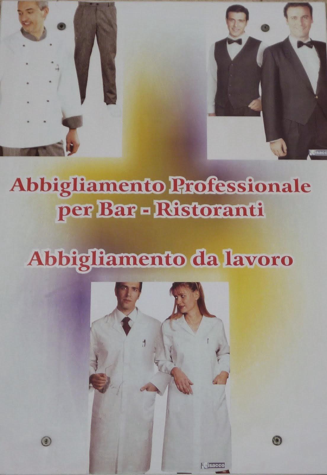 ABBIGLIAMENTO PER BAR E RISTORAZIONE 0831 384333 (CLICCA)
