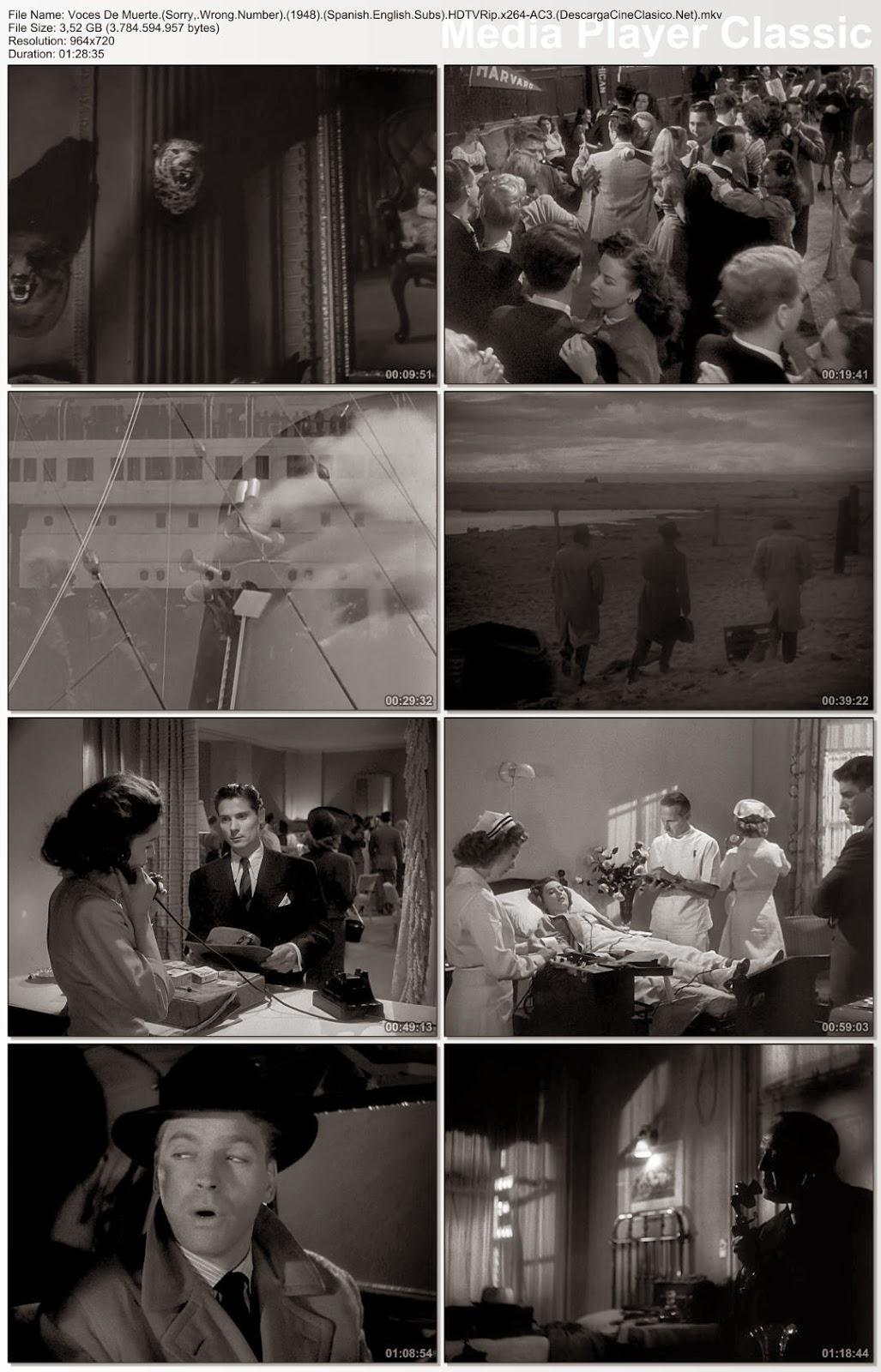 peícula: Voces de muerte 1948