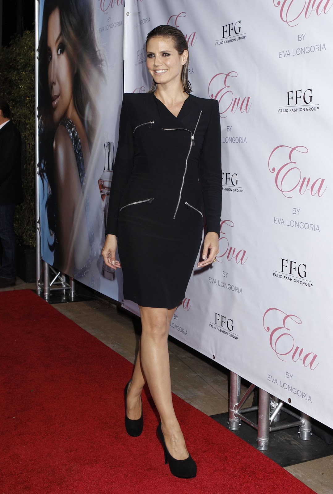 Heidi Klum Heidi Klum At Eva Longoria Parker Fragrance Launch In Hollywood 4 27 10