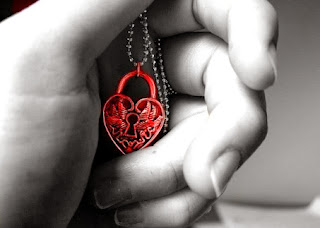 key of my heart + heart locket