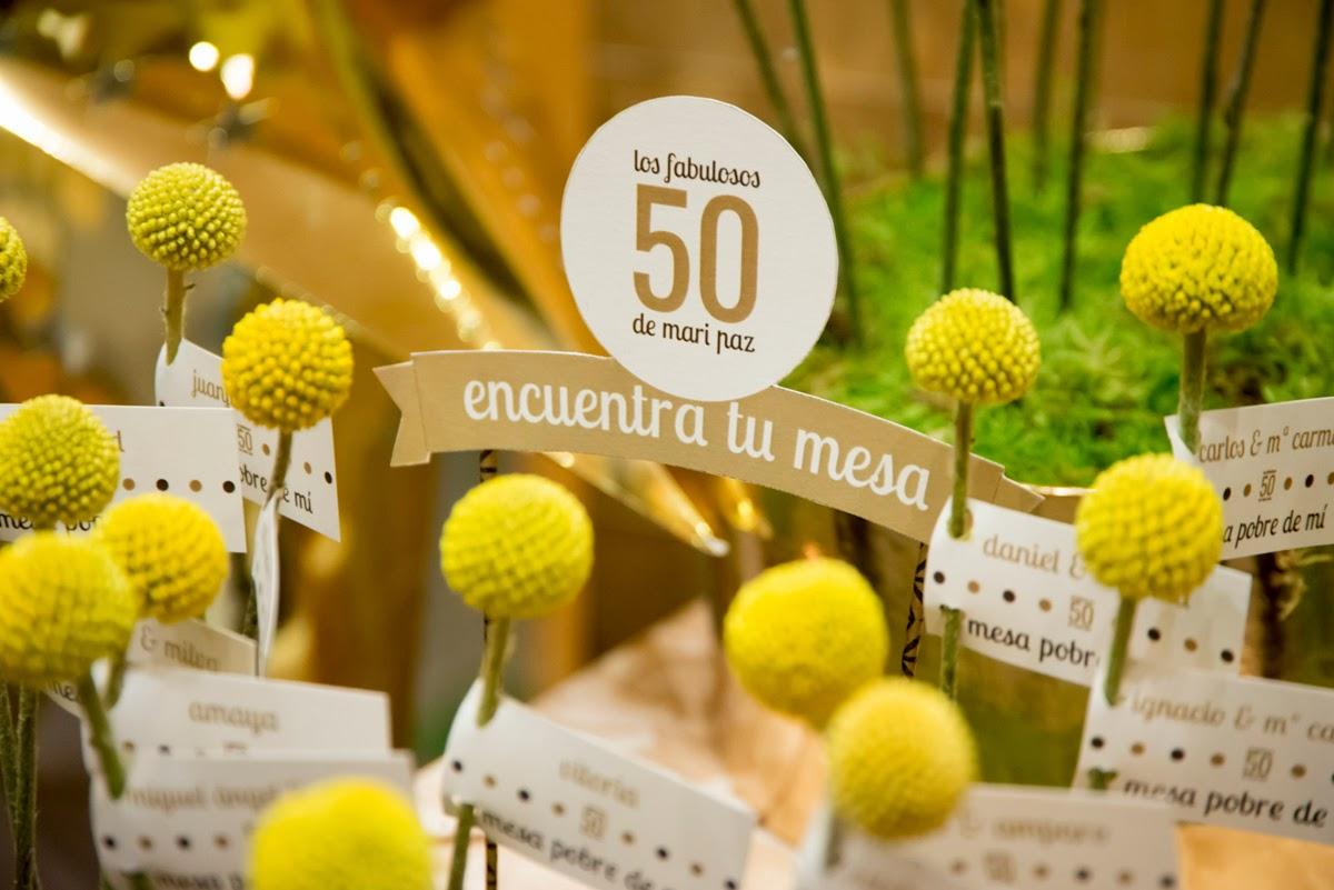 ideas fiesta 50 aos