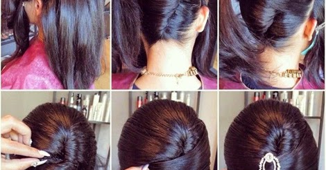 Easy French Twist Hairstyle Tutorial Entertainment News Photos