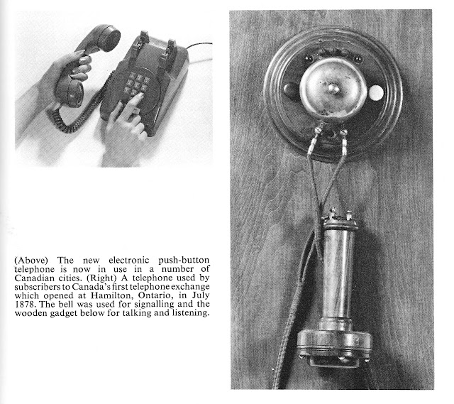 new electronic push-button telephone