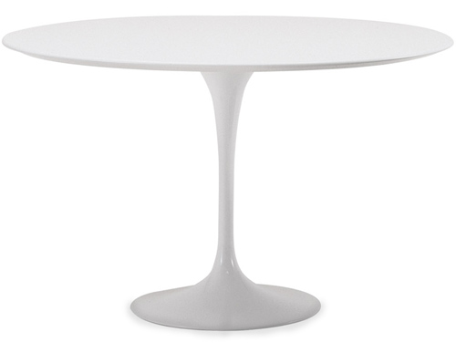 Saarinen Dining Table White Laminate -