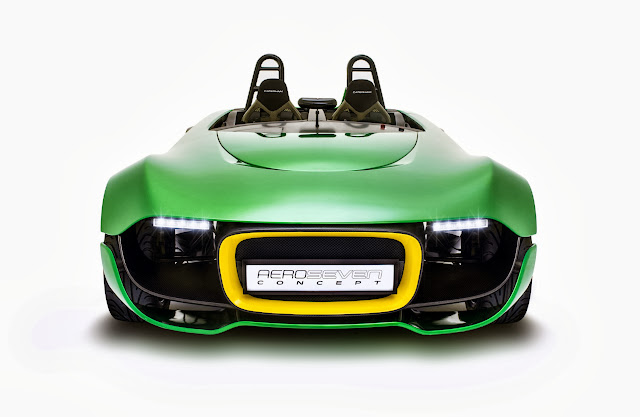 Caterham+Aero+Seven+Front+View [Video] Caterham AeroSeven Concept: Lean and Green