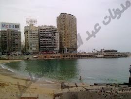 شاطئ جليم في أواخر الشتاء (منتصف فبراير 2012)
