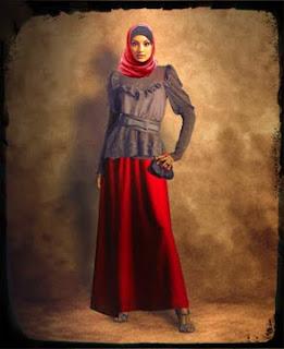 Gaun Pesta Wanita Muslimah 2013, Busana Pesta Wanita Muslim