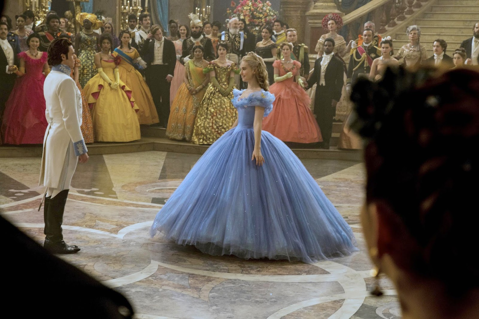 Cinderella 2015 Movie Pesta Dansa Ella & Kid