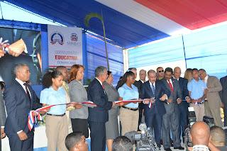Inauguración de politécnico en SDN es convertido en acto proselitista