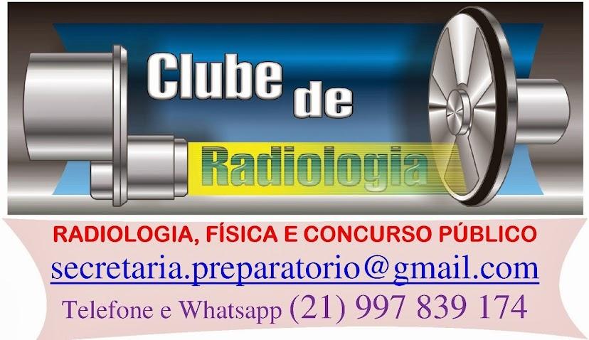 Radiologia, física e concurso - RJ