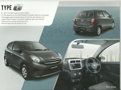 Brosur Agya Toyota