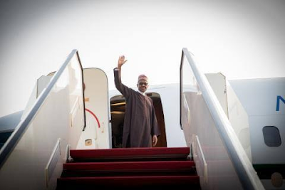 President Buhari departs on a 3-day official visit to Kenya