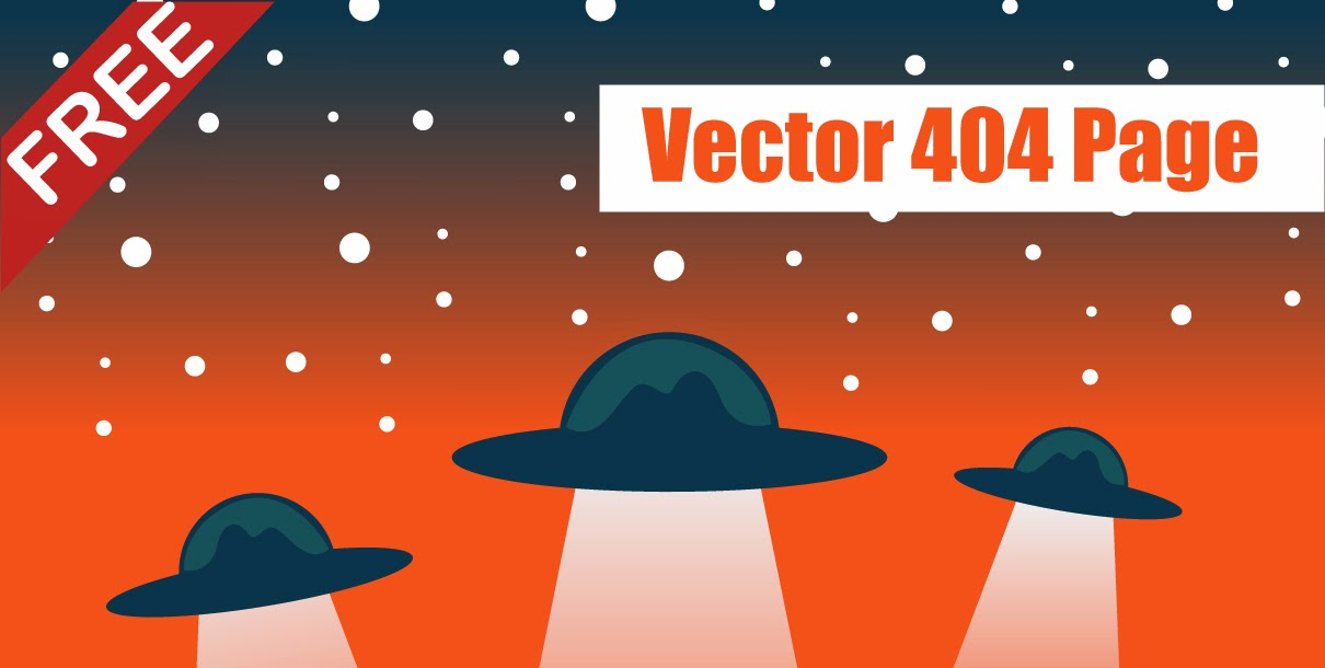 Free Vector 404 page