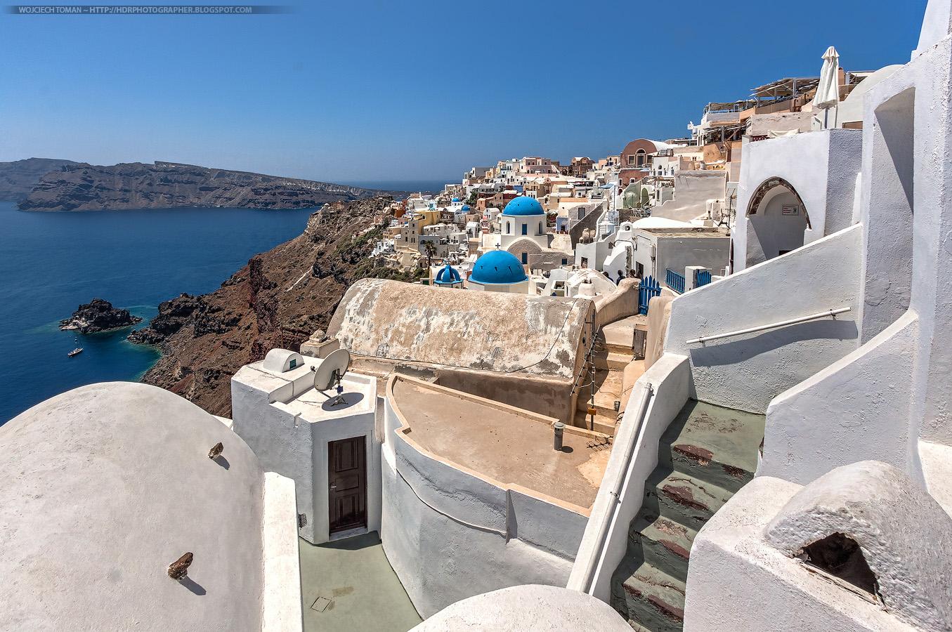 Oia on Santorini