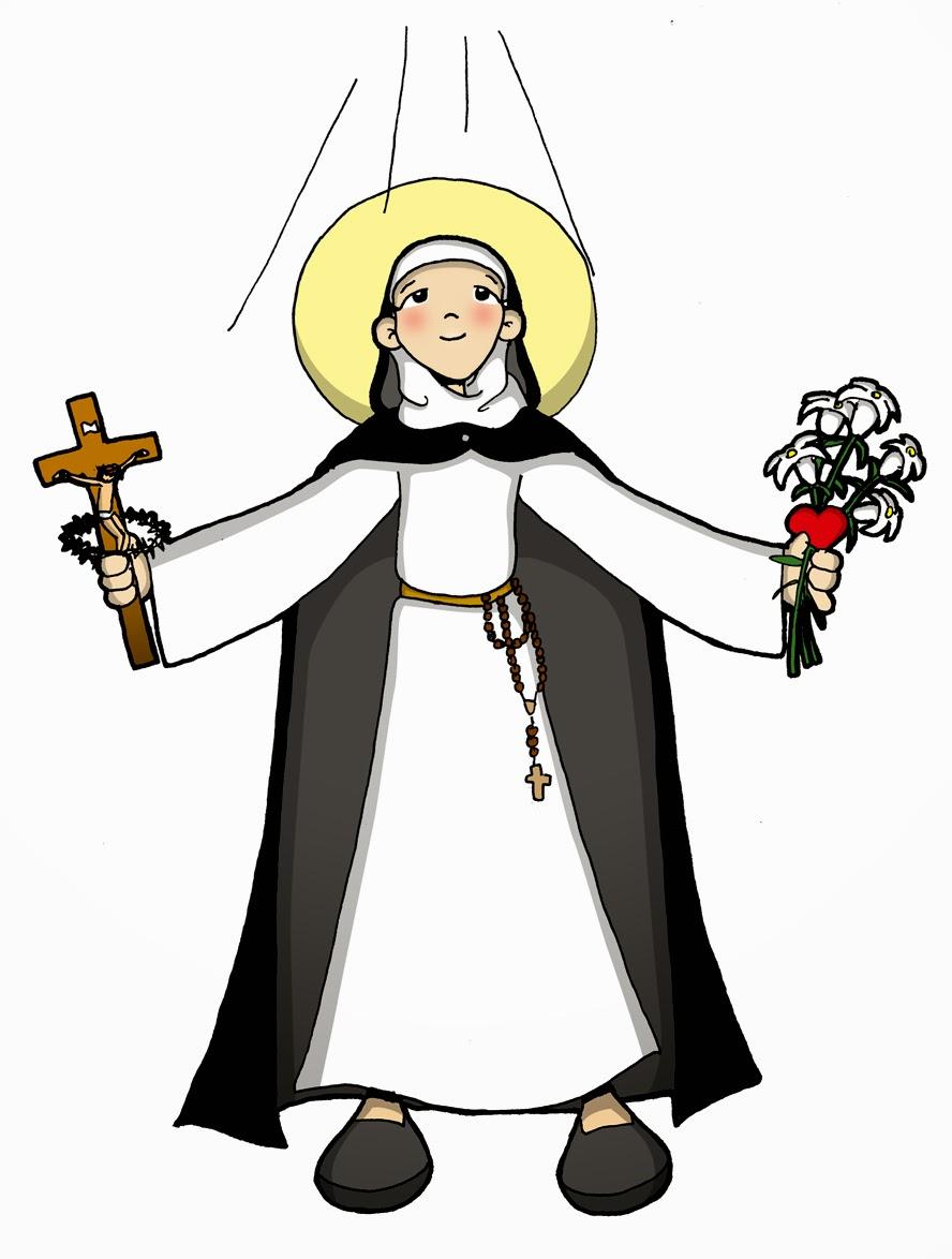 Matrimonio Catolico Dibujo : Dibujos para catequesis: santa catalina de siena