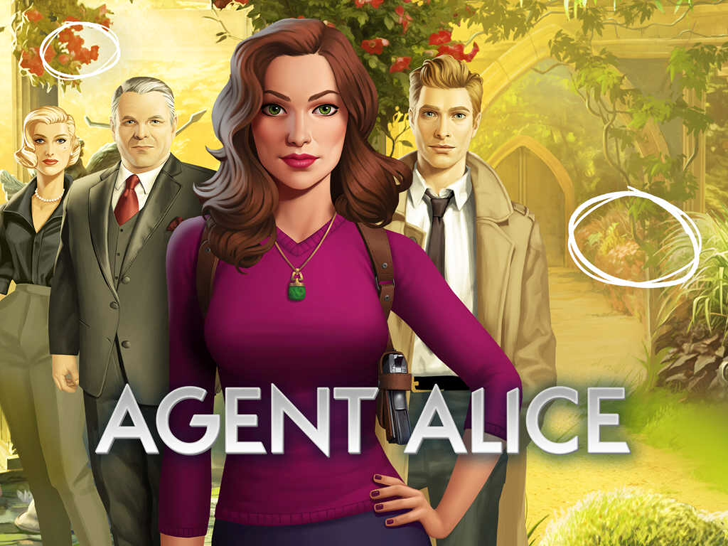 Agent Alice Free App Game By wooga