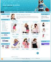 template blogspot baju fashion