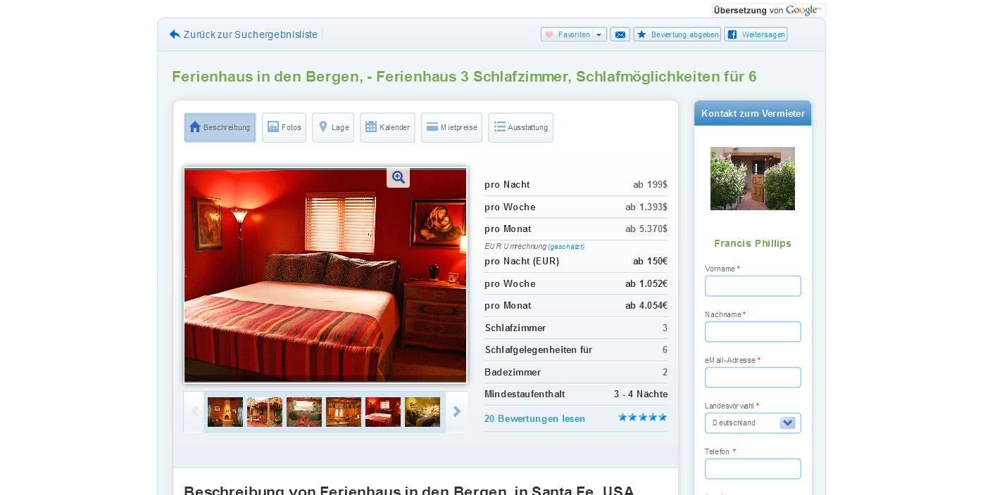 wohnungsbetrugsinformationen | informations about rental ...