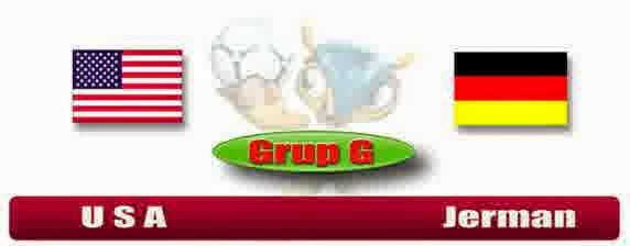 Perkiraan Skor Pertandingan Pamungkas Babak Penyisihan Group G Amerika Serikat Vs German