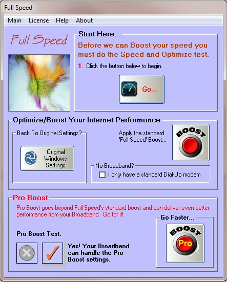 internet speed booster software free