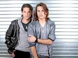 Ricky y Mau, los hijos de Montaner