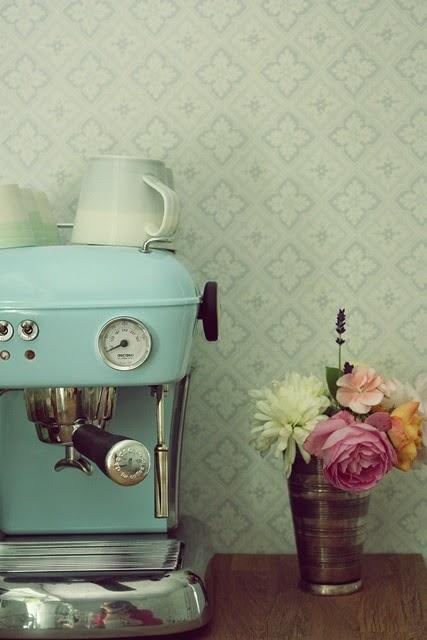 máquina de café - foto via Pinterest
