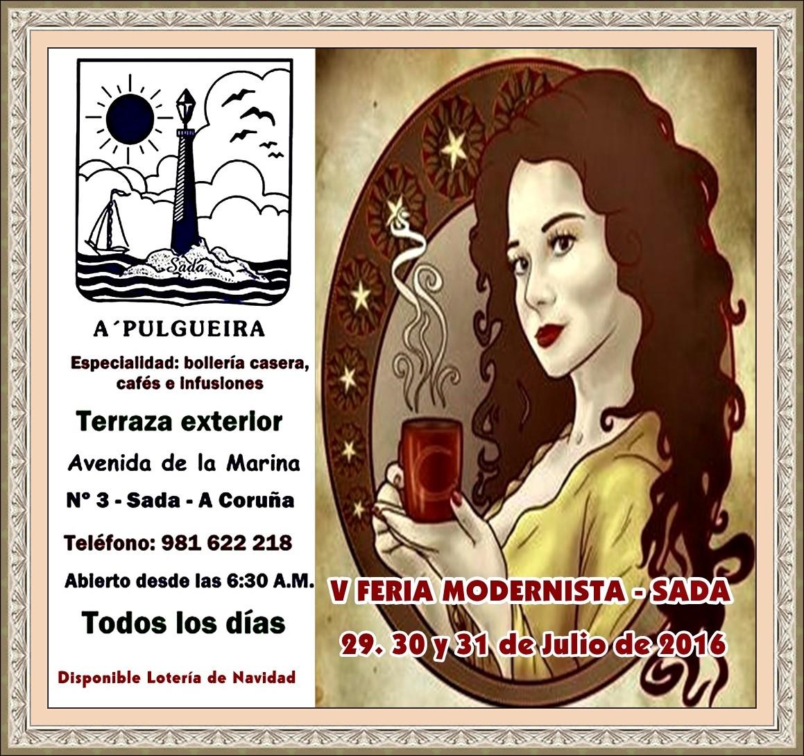Feliz Feria Modernista de Sada