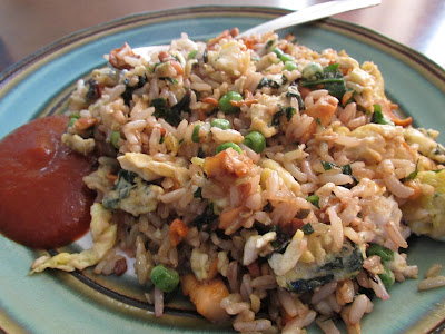 Gluten Free Vegetable and Mushroom Fried Rice