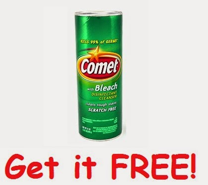 FREEBIE Alert: Comet Powder Cleanser with Bleach (SavingStar)
