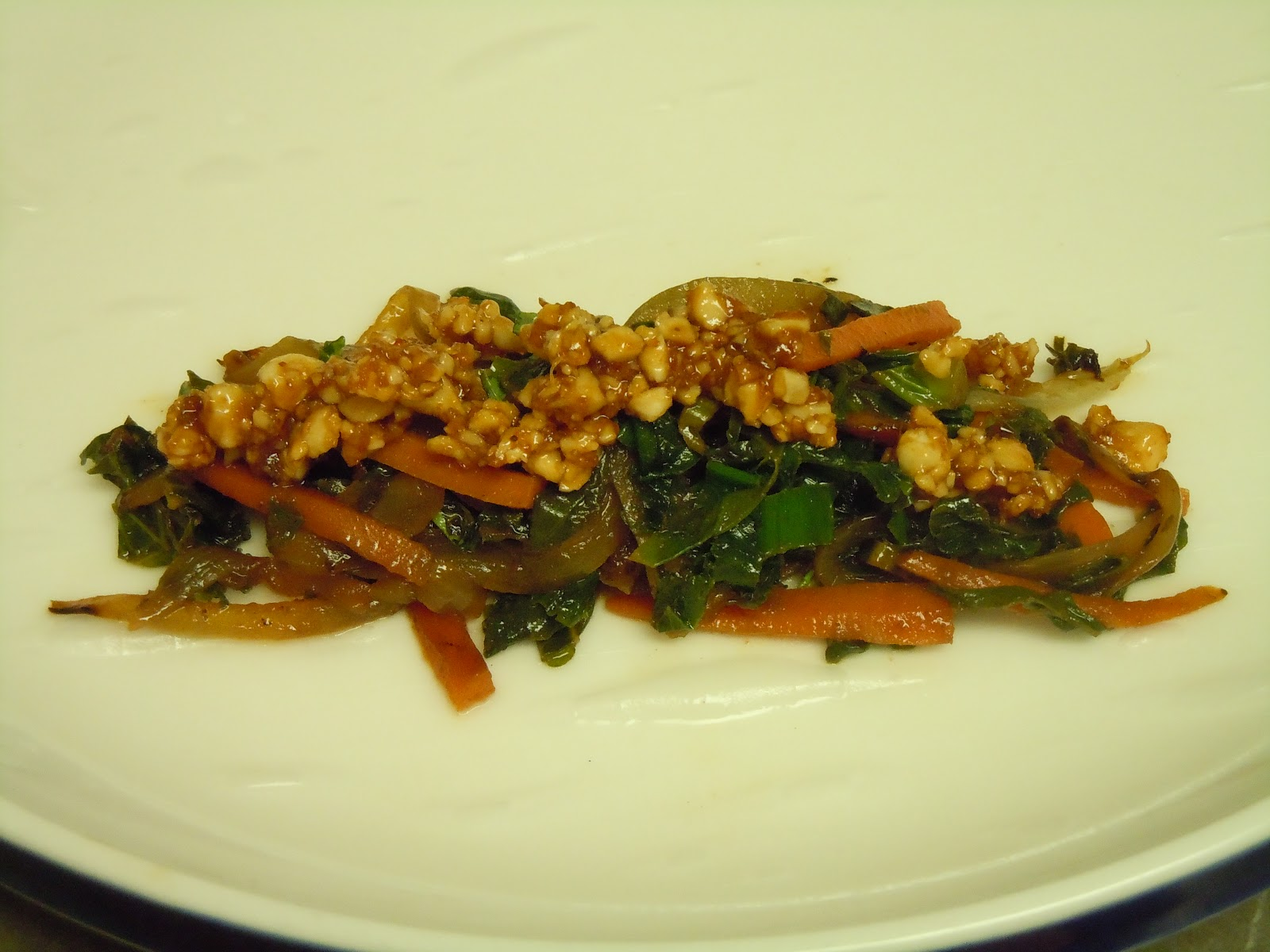 Swiss Chard And Spicy Peanut Sauce Spring Rolls Recipe ...