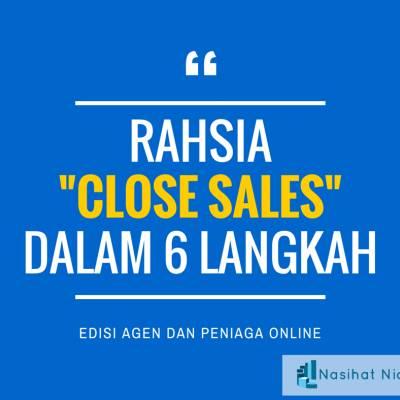 Rahsia  Close Sale dalam 6 Langkah