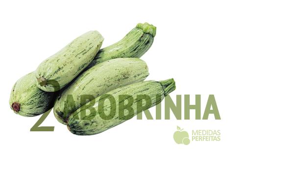 Abobrinha - Legumes que Emagrecem