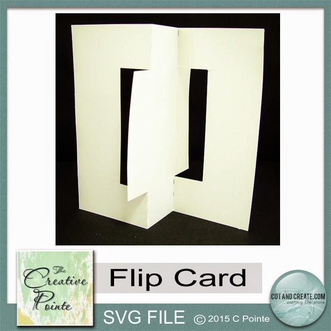how to use flip card die