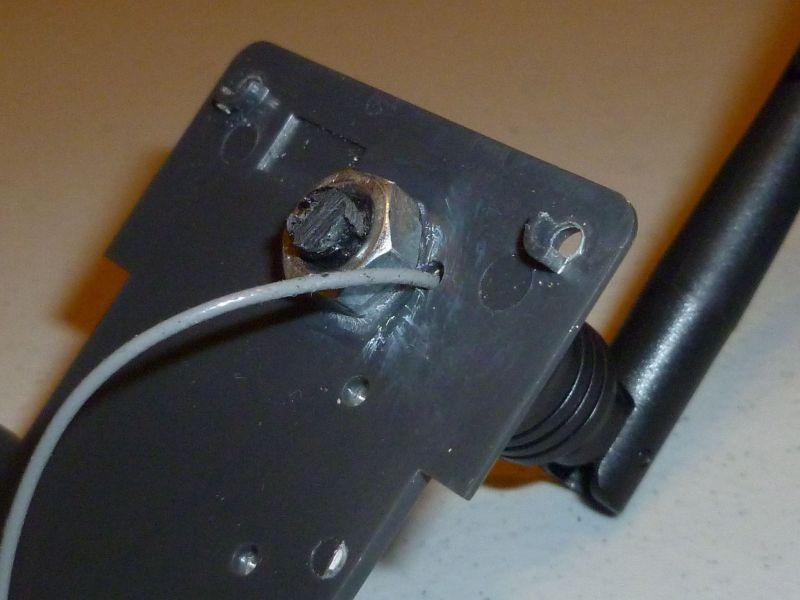 RF module back plate
