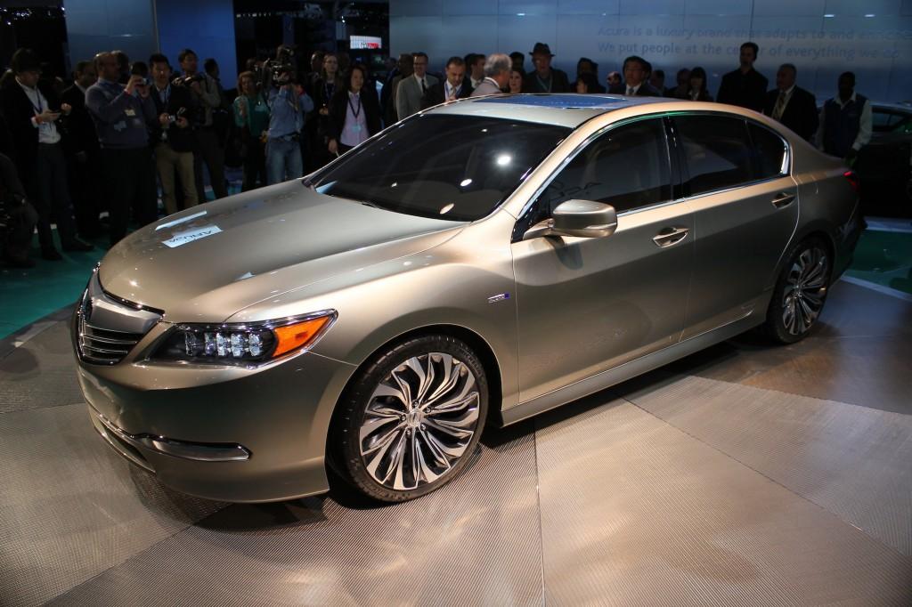 2014 Acura RLX at L.A. Auto Show