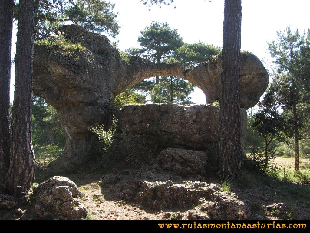 Ciudad Encantada: Puente Romano