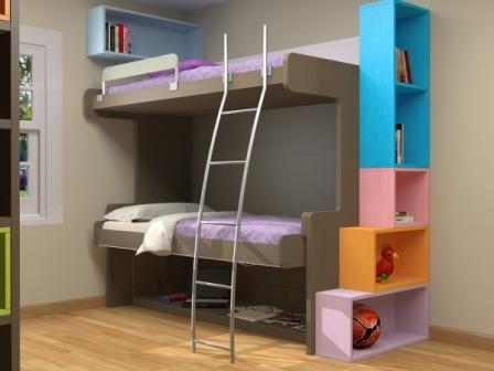 Muebles juveniles dormitorios infantiles y habitaciones - Muebles nuevo mundo ...