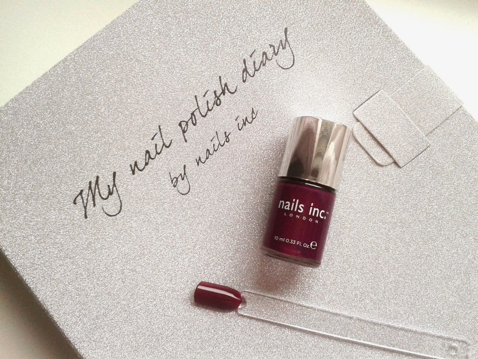 Nails Inc Nail Polish Diary St. Martin's Lane Beauty review swatch