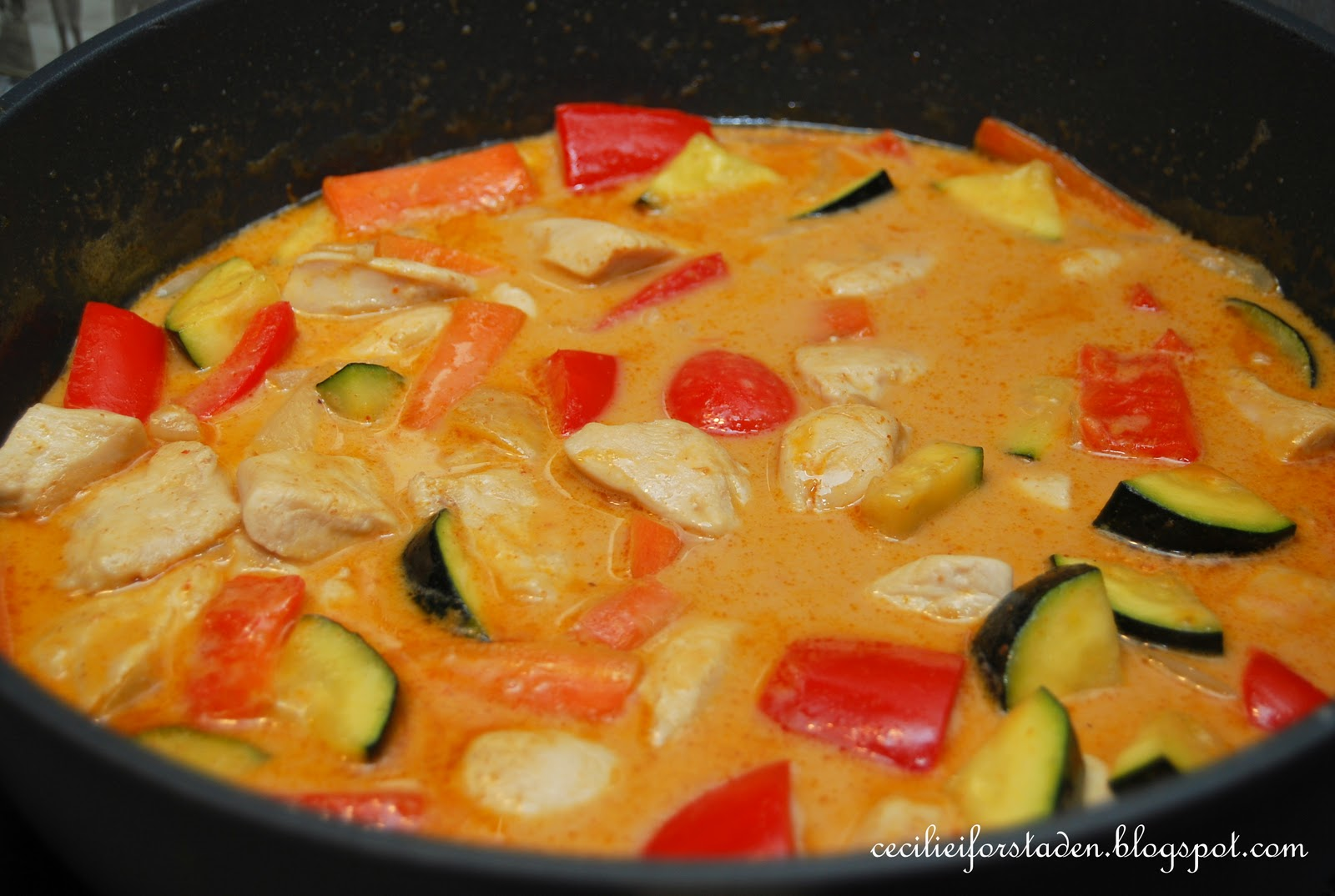 kokosmelk curry