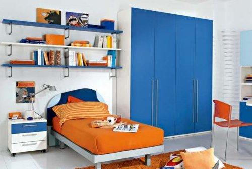 azul blanco y naranjaal azul y el naranja son colores complementarios