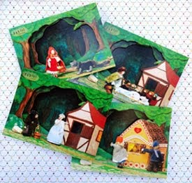 Térbeli képeslapok / 3 D cards