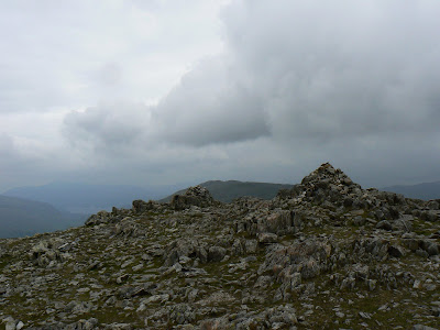 The first summit of the day was Allen Crags